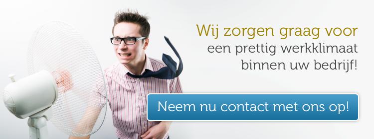prettig werkklimaat dankzij airco in Utrecht